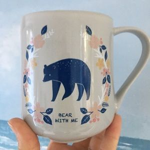 Threshold Bear With Me Coffee Mug Soft Grey